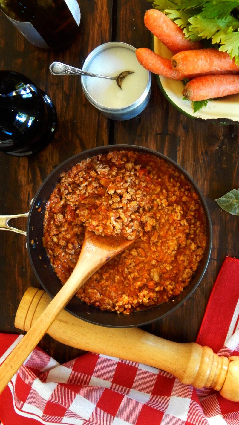 ragu bolognese salsa bolognesa boloñesa