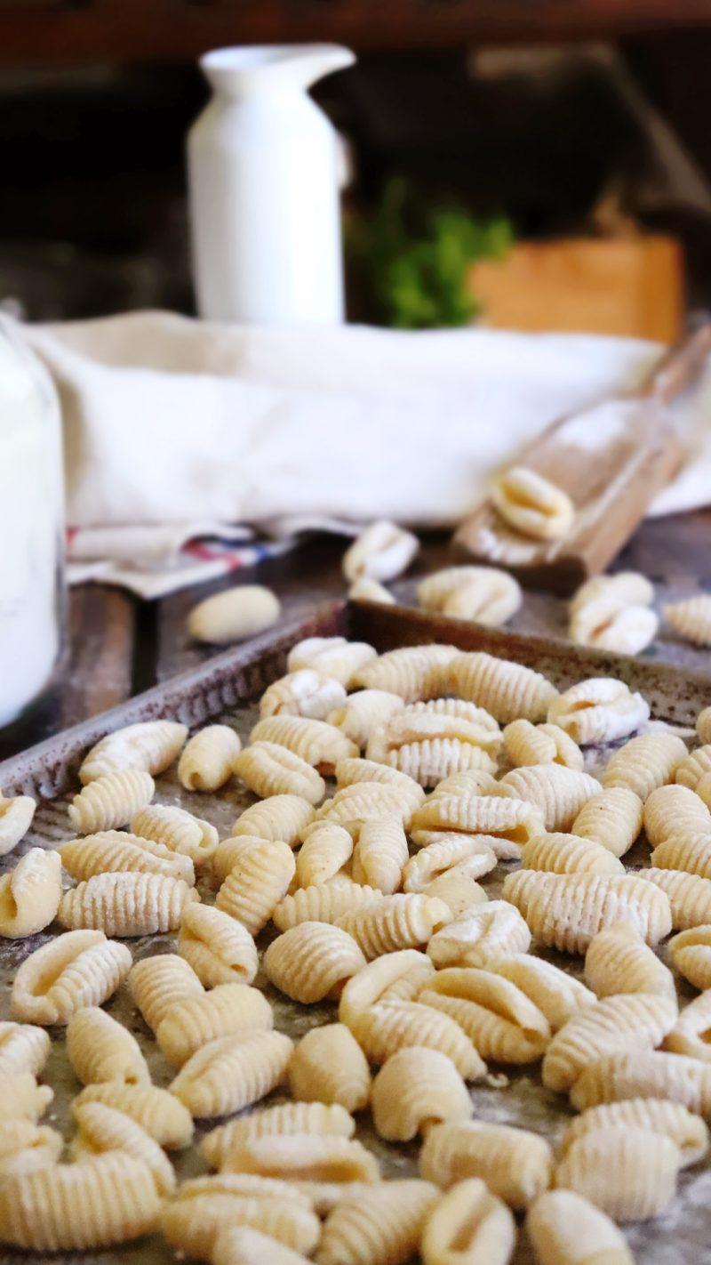 ñoquis de leche harina gnocchi
