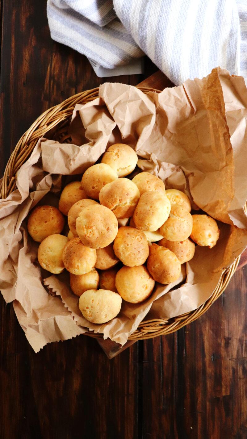 pancitos de queso pan facil 3 ingredientes
