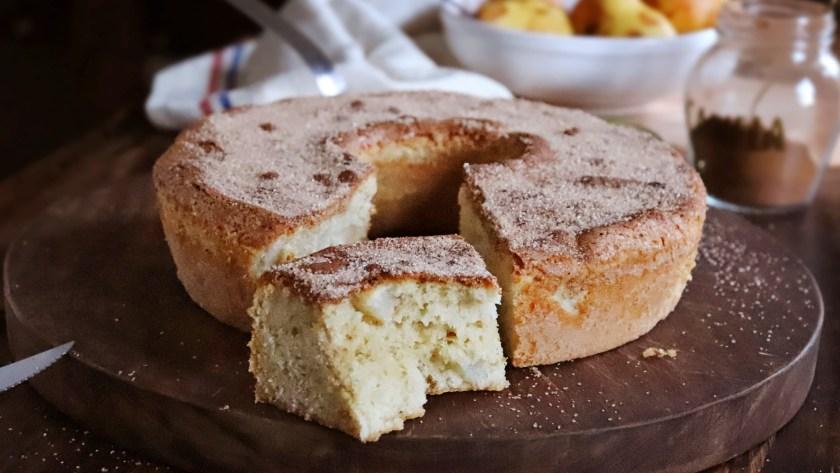 torta de pera facil rapida aceite sin manteca