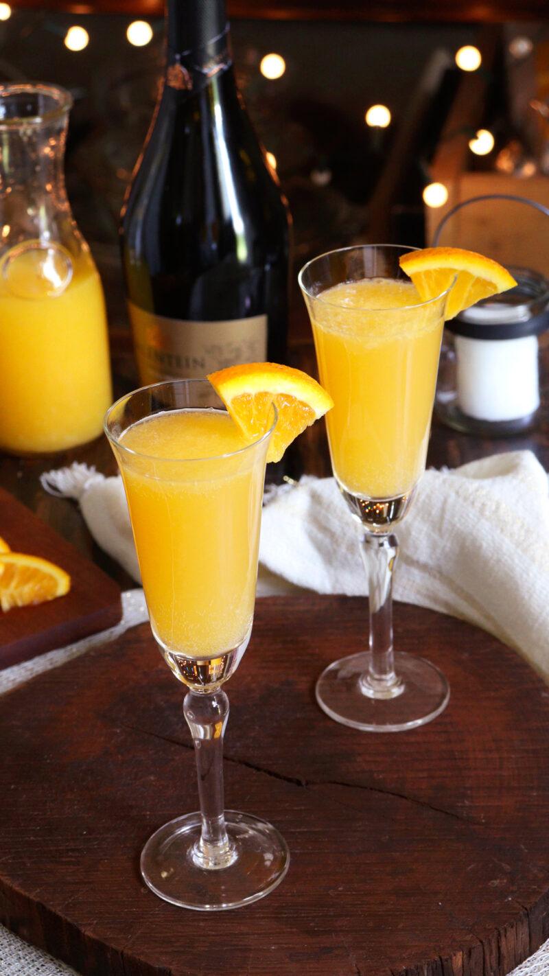 mimosa coctel cocktail naranja espumante