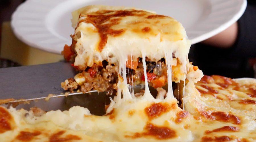 pastel de papa carne queso casero