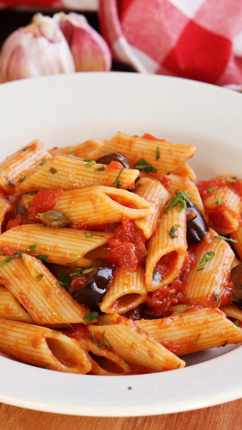 pasta puttanesca salsa