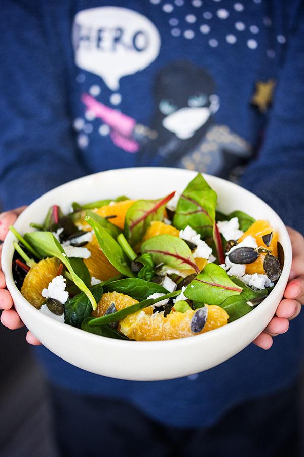 Salata od špinata i blitve