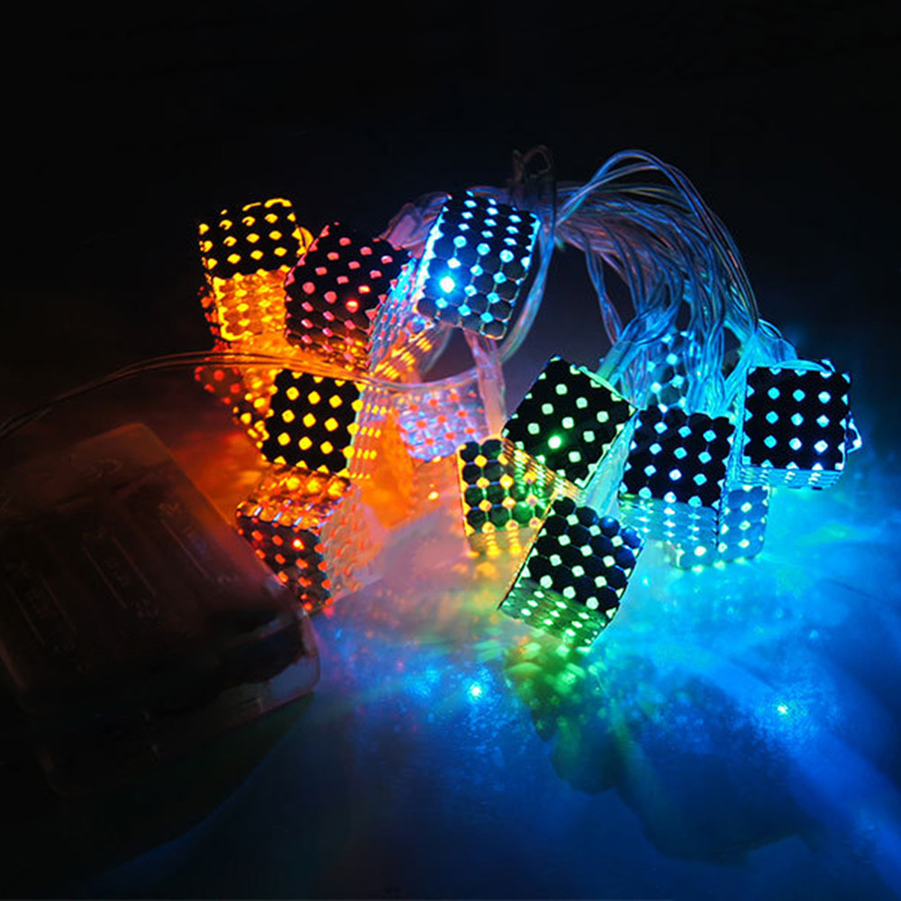Brand New Magic Dream Color Box 20 Square LED Festival String Light Fairy Lights Christmas Xmas