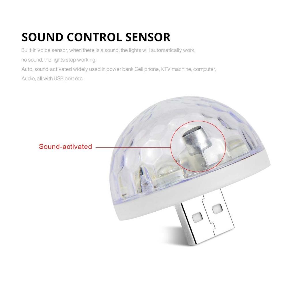 hight resolution of 4pcs 3w dc 5v rgb usb led bulb lamp music sound control stage light disco party decor microphone lighting type c micro lightning