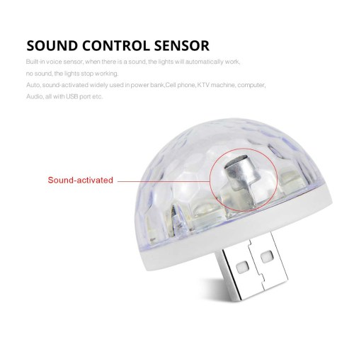 small resolution of 4pcs 3w dc 5v rgb usb led bulb lamp music sound control stage light disco party decor microphone lighting type c micro lightning