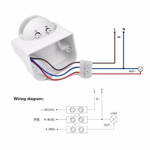 small resolution of lsx engine information probe wiring diagram diy pir infrared motion sensor switch smart security led