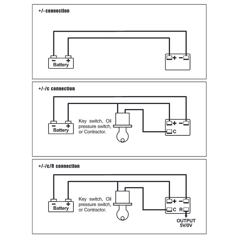 Charge Meter Wiring Diagram - Wiring Diagram Table on