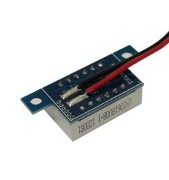 mini 2 wires dc voltmeter 3 3 30v led panel digital display voltage meter tester voltage diagnostic [ 1000 x 1000 Pixel ]