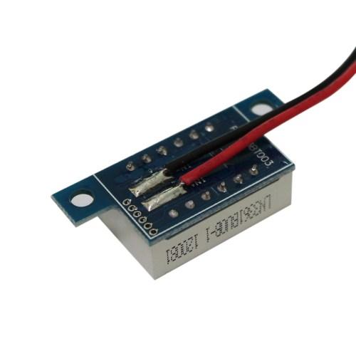 small resolution of mini 2 wires dc voltmeter 3 3 30v led panel digital display voltage meter tester voltage diagnostic