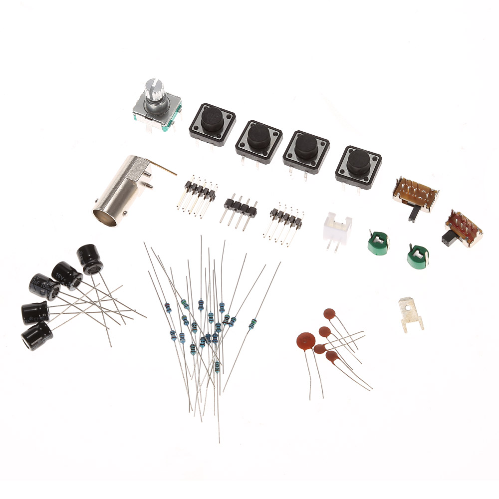 Digital Oscilloscope DIY Kit Parts with Case SMD Soldered
