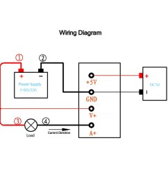 voltage module dc 0 60v 0 10a volt current power resistance measurement module ampmeter voltmeter battery [ 1000 x 1000 Pixel ]