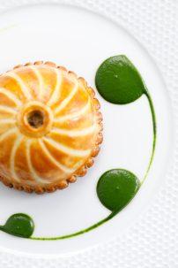 Le Jardin - Croustillant de canette de barbarie et foie gras, saladine d'hiver 4