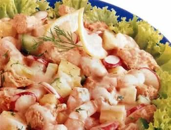Salada de Camaro  Receita e Ingredientes  Culinria