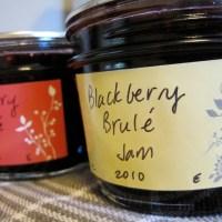 roasted blackberry jam for étienne brûlé