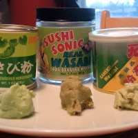 wearing o' the green -- wasabi tasting