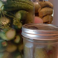 safe kosher-style dill pickles: fermented and non-fermented