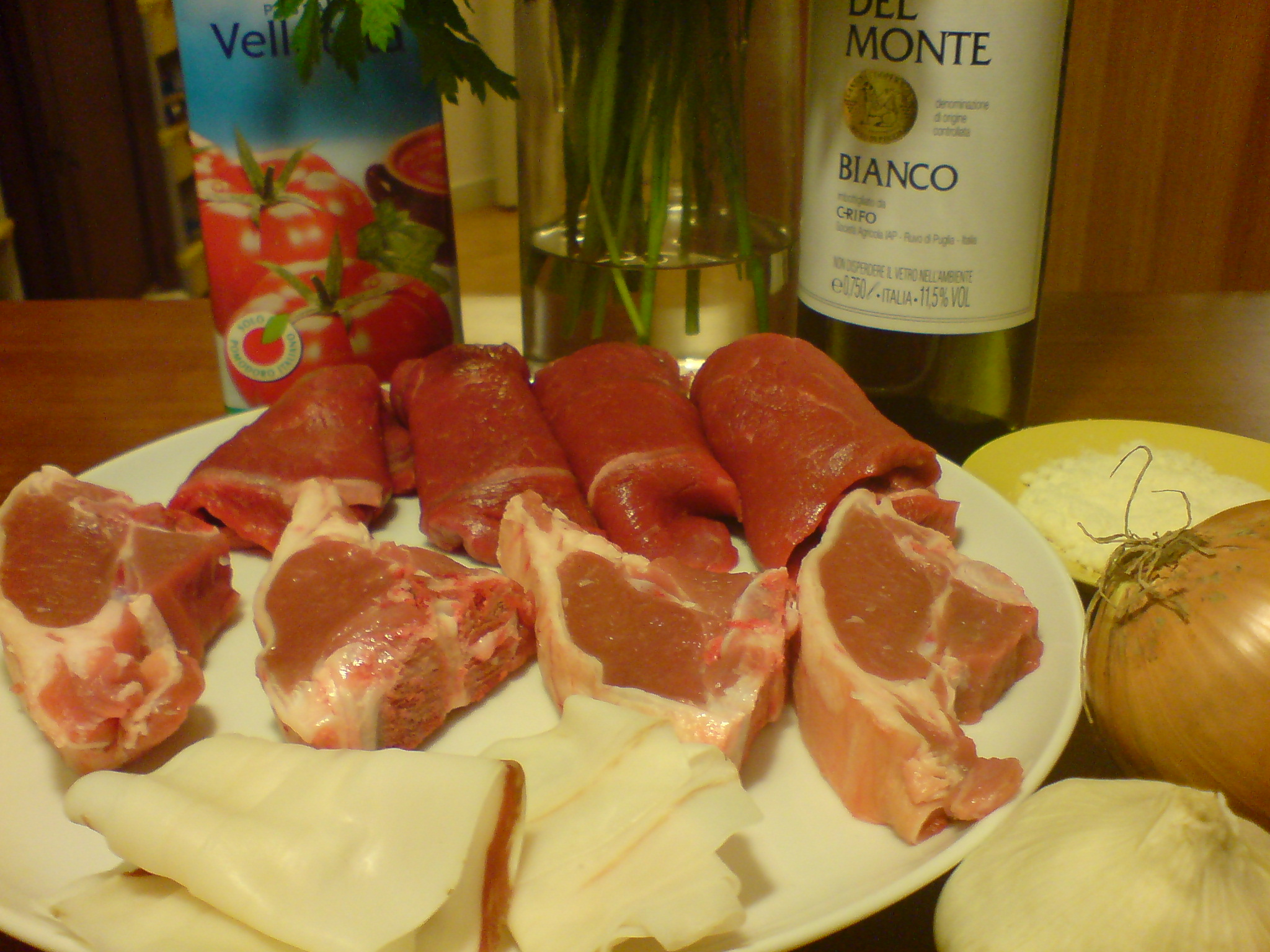 Ragu alla Barese ingredients