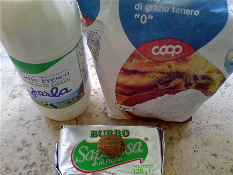 White sauce ingredients