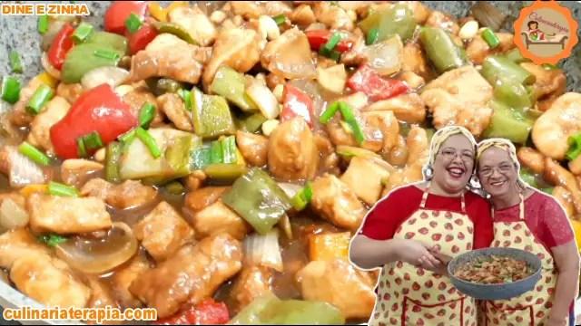 Frango Xadrez Super Suculento O Melhor do Mundo Original Chinês