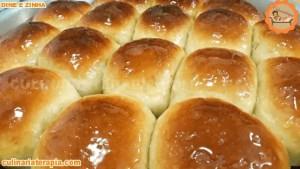 Como Fazer Pão Doce Caseiro Fofinho Brioche de Iogurte