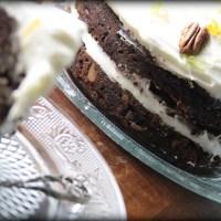 Csokoládés céklatorta