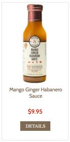 mango ginger habanero