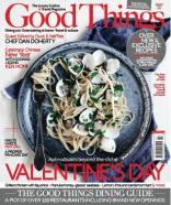 Good Things magazine luxury food cuisine travel February