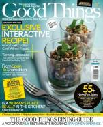 Good Things magazine luxury food cuisine travel March