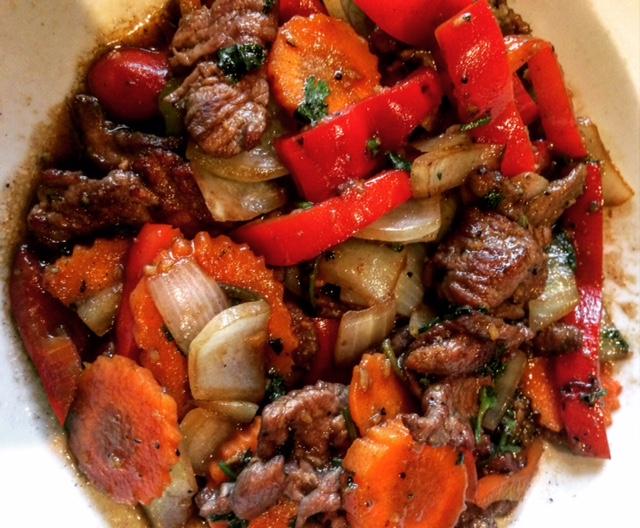 Garlic Pepper Beef