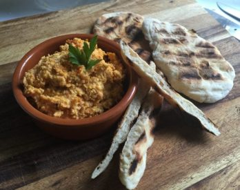 Roasted Carrot & Garlic Hummus