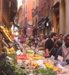 culinary tour italy, market bologna