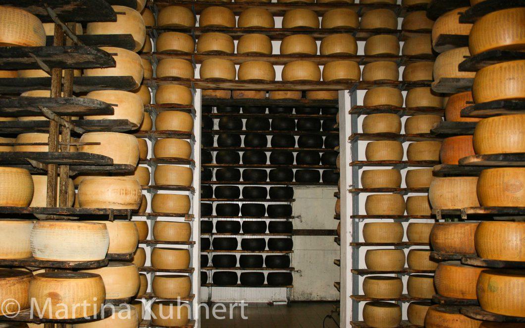 foodie tour bologna, parma cheese il nero da pieve roffeno
