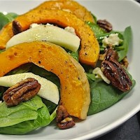 Winter squash salad - Warm