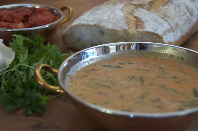 Hungarian bean soup