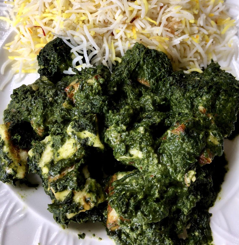 Indian Saag Paneer Recipe