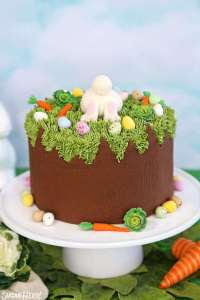 Bunny in a hole Chocolate mud cake
