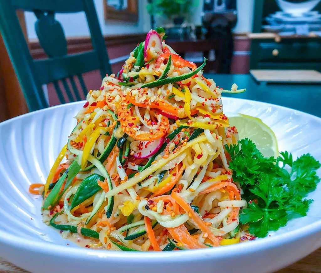 Keto Thai Veggie Salad