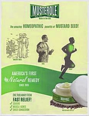 Old Musterole ad