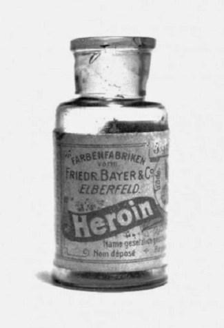 vial of Bayer Heroin