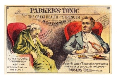 Parker's tonic patent medicine, the non-intoxicating stimulant