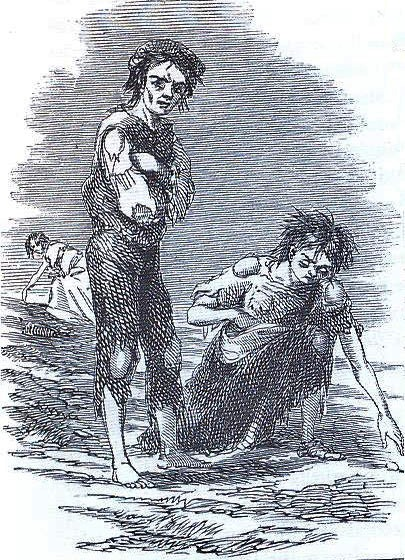 1847 illustration Irish potato famine