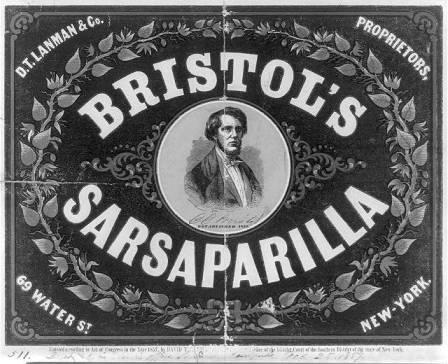 Bristol's Sarsaparilla vintage ad
