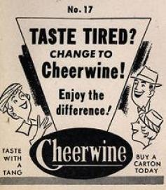cheerwine cola advertisment