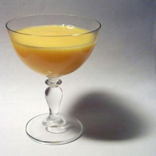 Glass of Advocaat liqueur