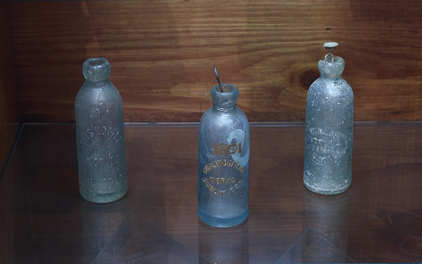 very old antique dr pepper bottles