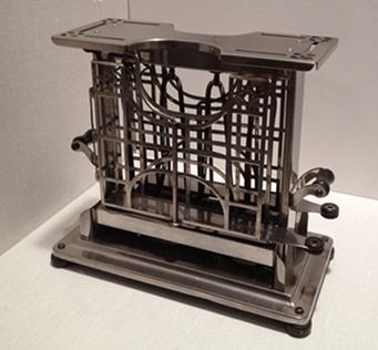 antique toaster