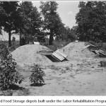 Food Storage Facilities of Labor Rehabilitation Program, 1930's