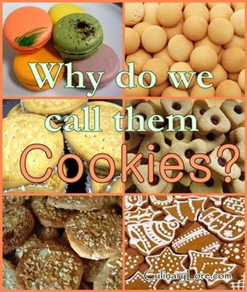 Origin of the word cookie